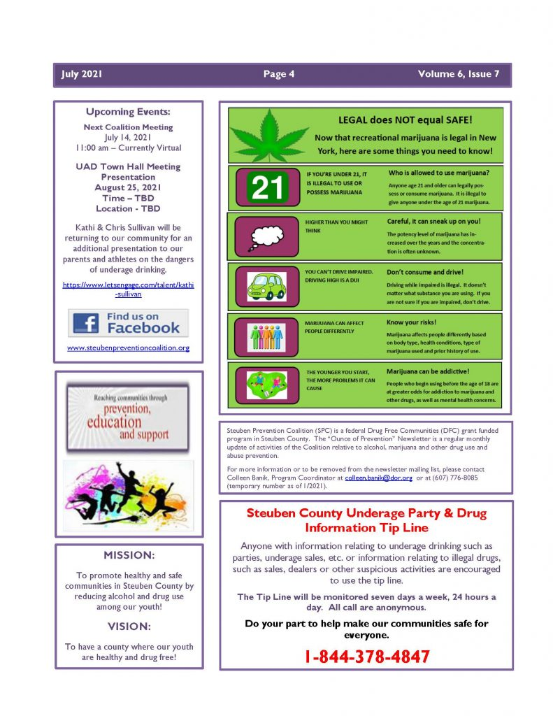 July 2021 Newsletter Page 4 791x1024 - Steuben Prevention Coalition - In the Know (July)