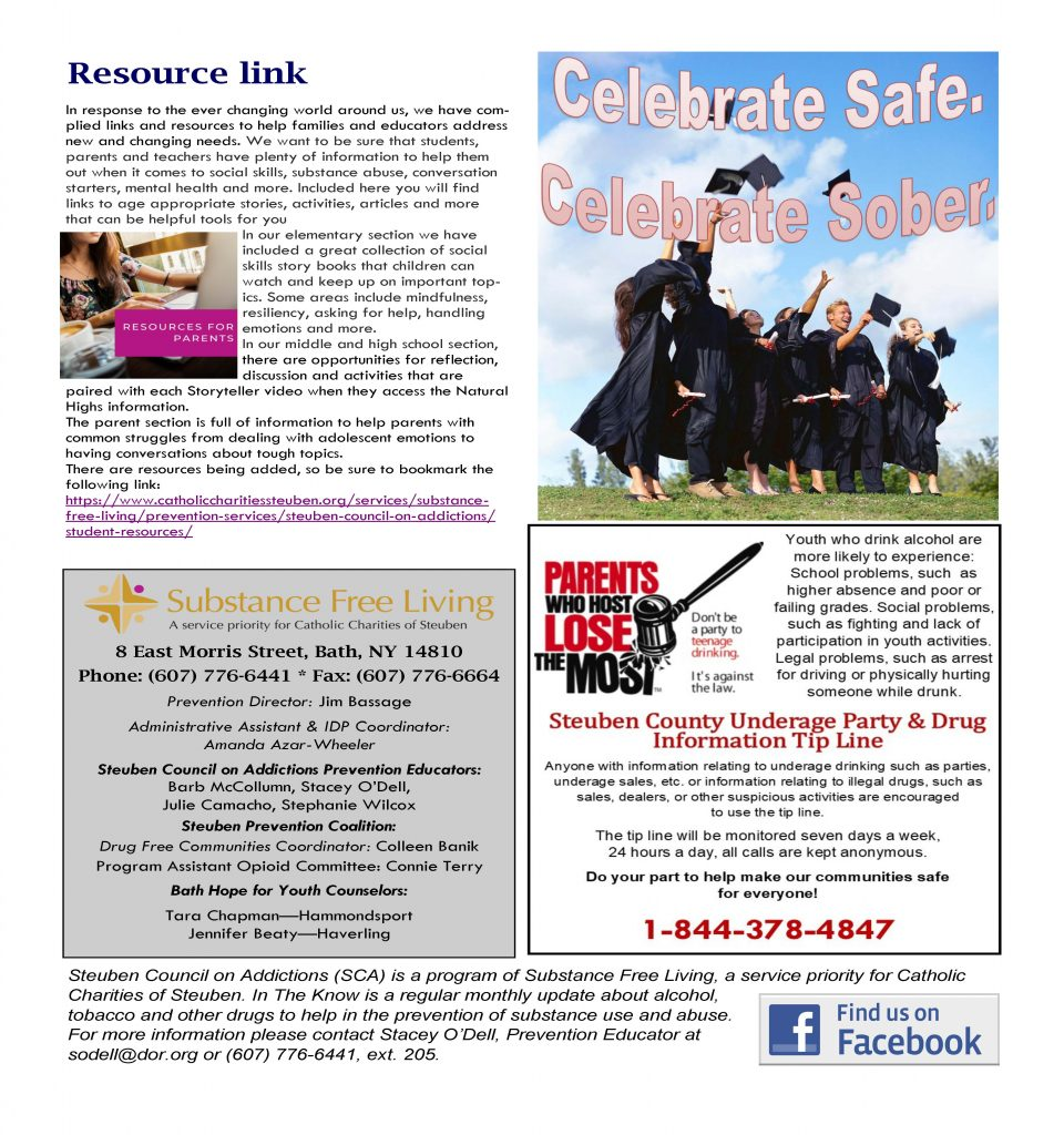 June Page 2 960x1024 - Steuben Council on Addictions - In the Know (June)