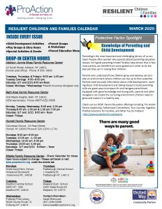 MARCH 2020 Resilient Children and Families Community Calendar Page 1 232x300 - MARCH 2020 Resilient Children and Families Community Calendar_Page_1