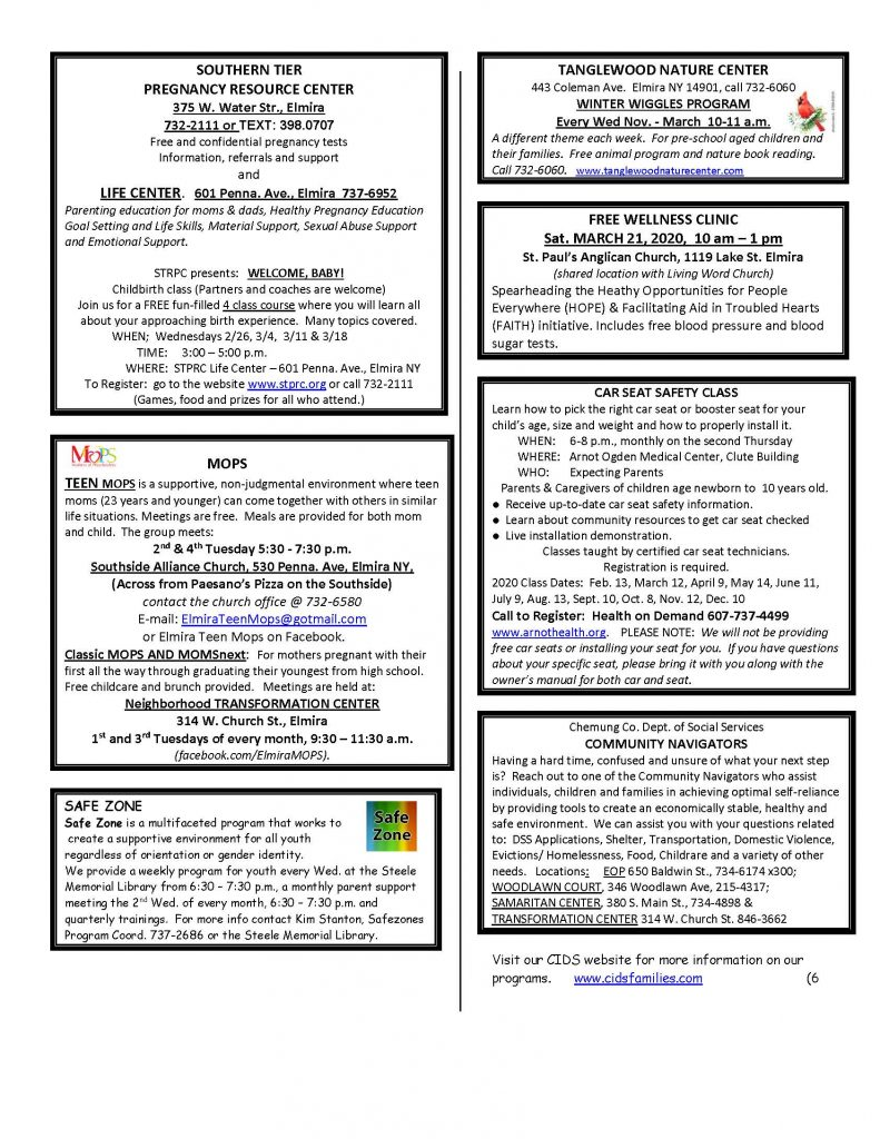 MARCH 2020 Page 6 791x1024 - CIDS Parenting Newsletter (March)