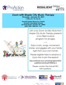 Maple City Music Therapy JANUARY 2021 on ZOOM Hornell FRC 1 232x300 - Maple City Music Therapy JANUARY 2021 on ZOOM -Hornell FRC (1)