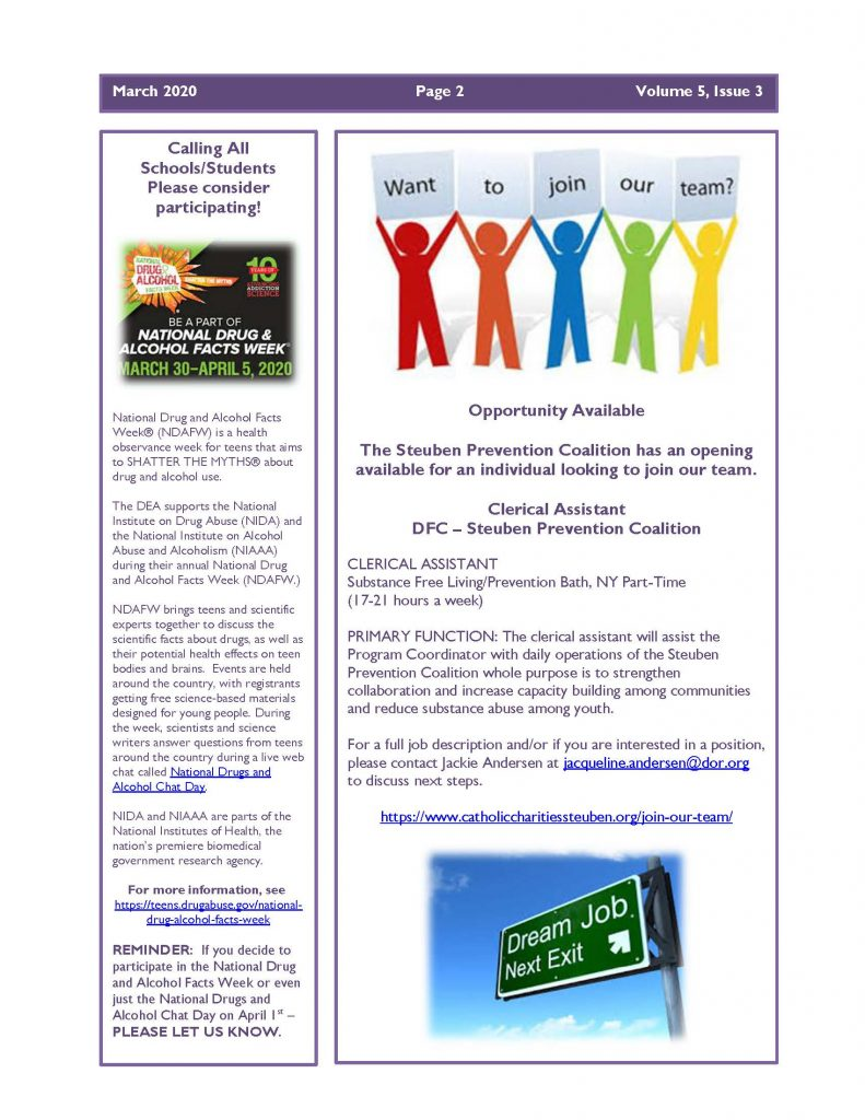 March 2020 Newsletter Page 2 791x1024 - Steuben Prevention Coalition - Ounce of Prevention