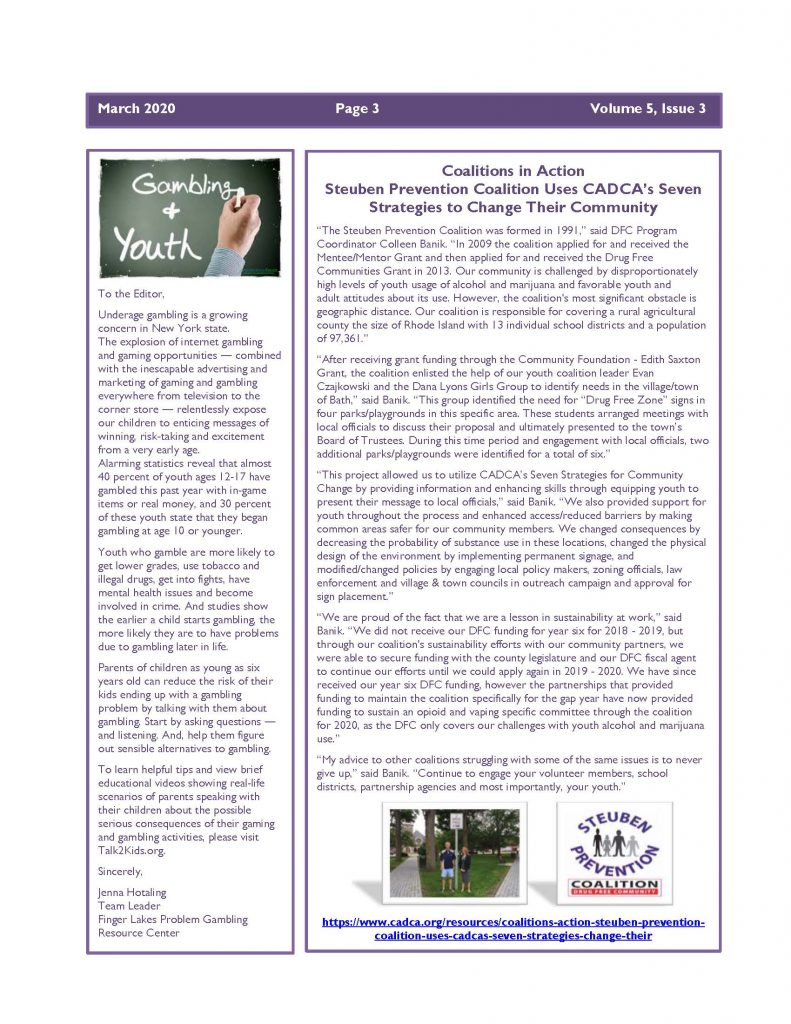 March 2020 Newsletter Page 3 791x1024 - Steuben Prevention Coalition - Ounce of Prevention