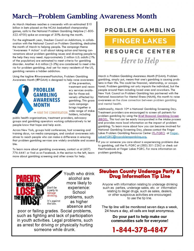 March In the Know 002 Page 3 791x1024 - Steuben Council on Addictions - In The Know
