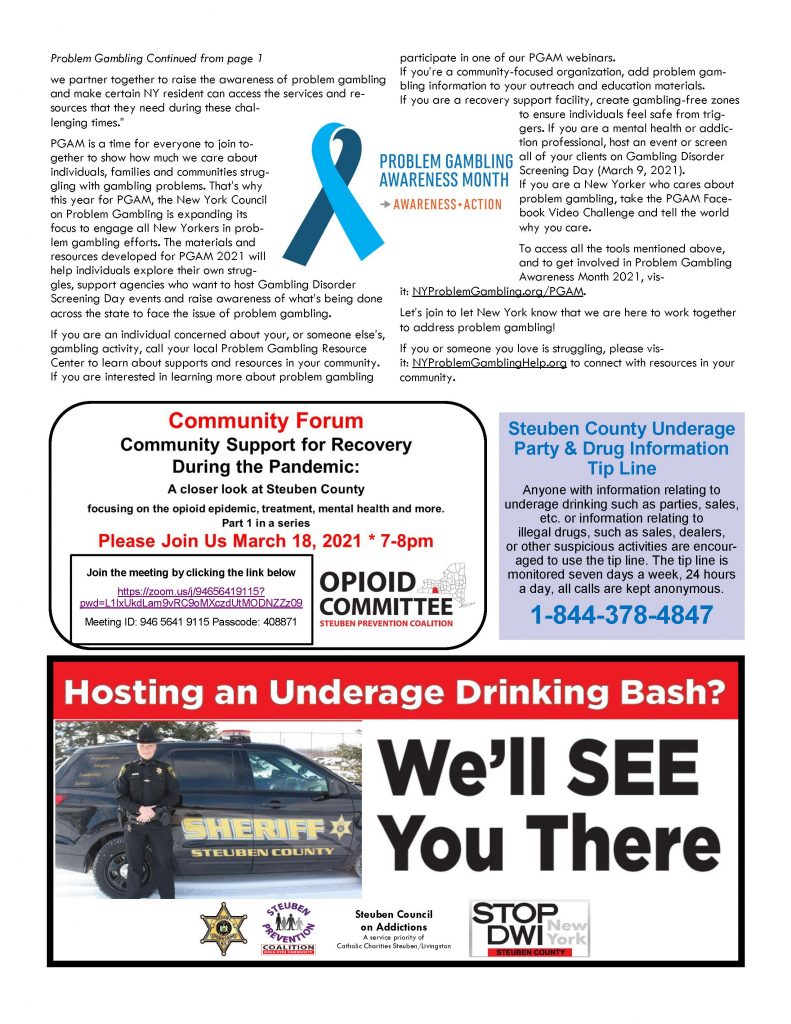 March Page 3 791x1024 - Steuben Council on Addictions: In the Know (March)