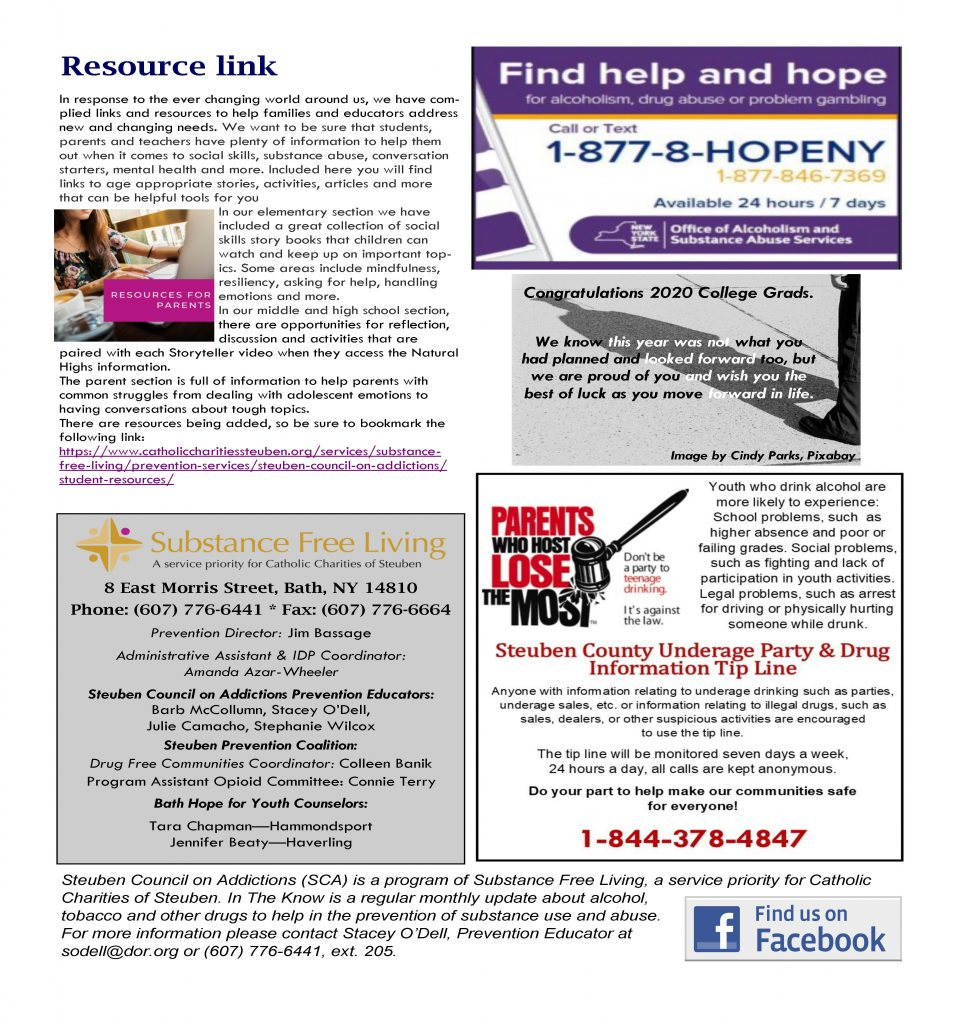 MayInTheKnow Page 2 960x1024 - Steuben Council on Addictions - In the Know