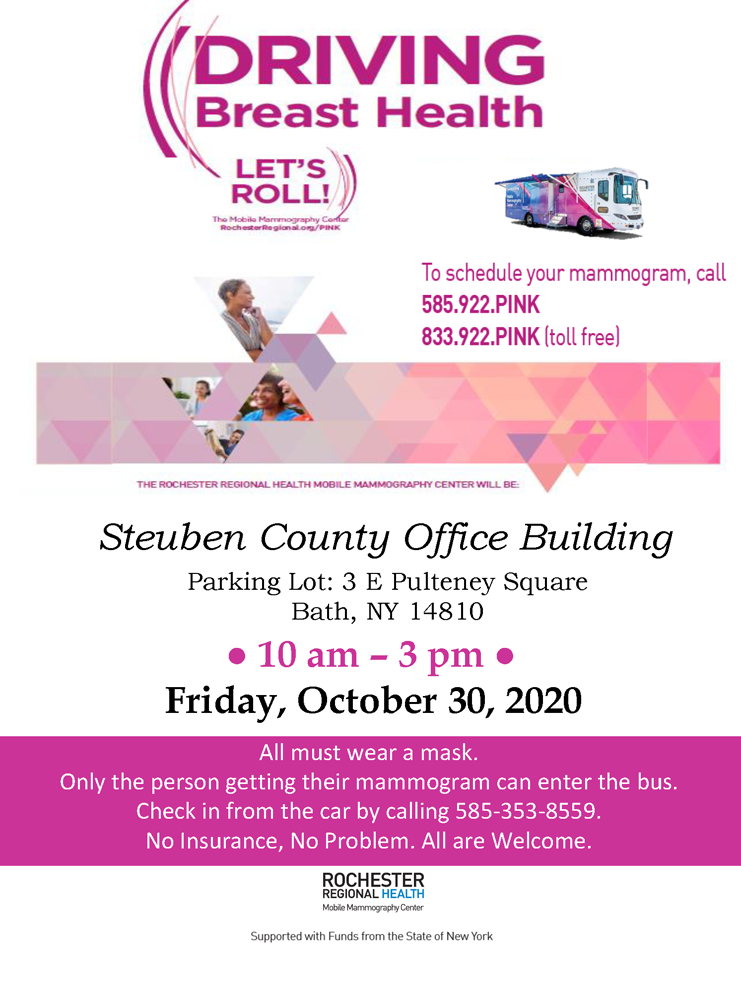 Mobile Mammo 103020 1 - Driving Breast Health - Oct. 30 Event