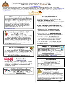 NOVEMBER newsletter  Page 1 232x300 - NOVEMBER newsletter -_Page_1