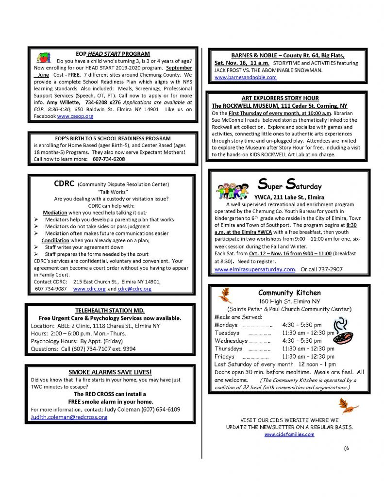 NOVEMBER newsletter  Page 6 791x1024 - CIDS November News and Services Roster