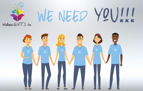 NeedYou - Wellness GIFTS Seeks Summer Volunteers