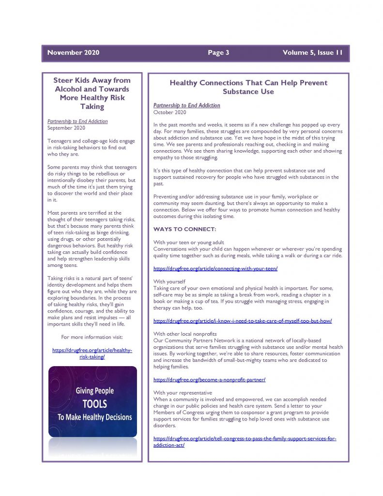 November 2020 Newsletter 1 Page 3 791x1024 - Steuben Prevention Coalition - Ounce of Prevention (November)