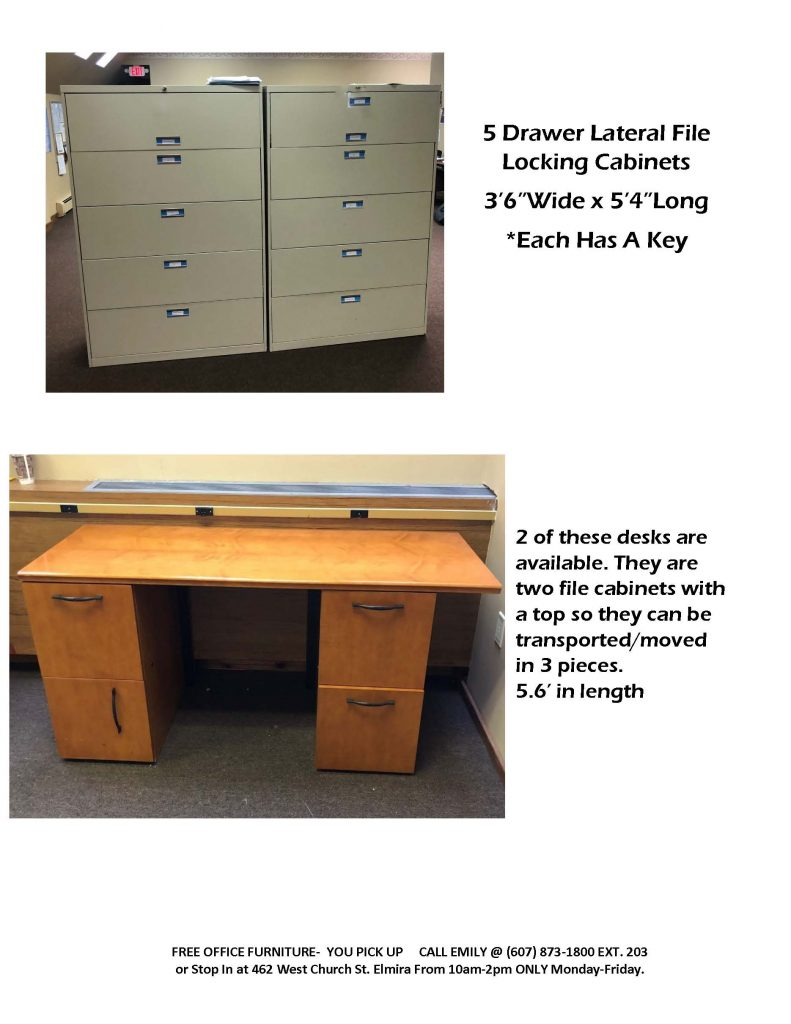 OFFICE FURNITURE POSTING Page 3 791x1024 - Bridges for Brain Injury Offers Free Furniture