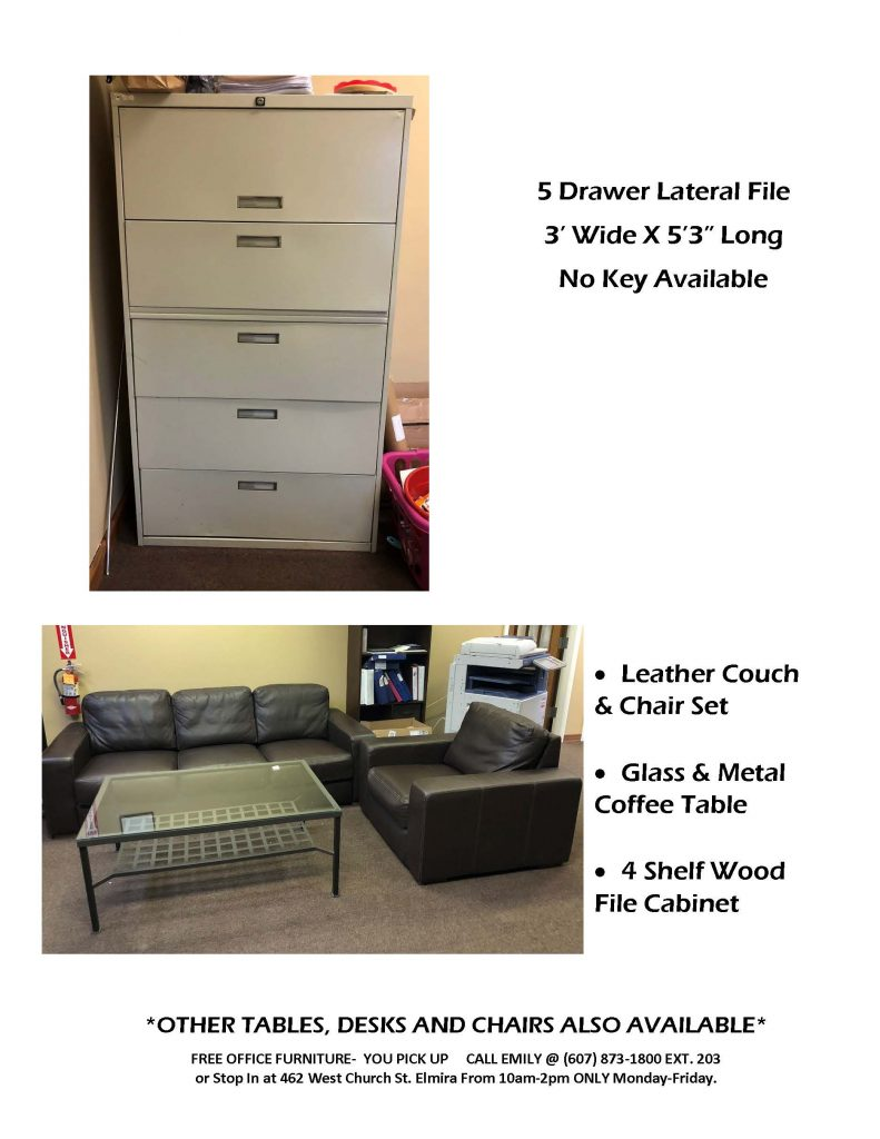 OFFICE FURNITURE POSTING Page 4 791x1024 - Bridges for Brain Injury Offers Free Furniture
