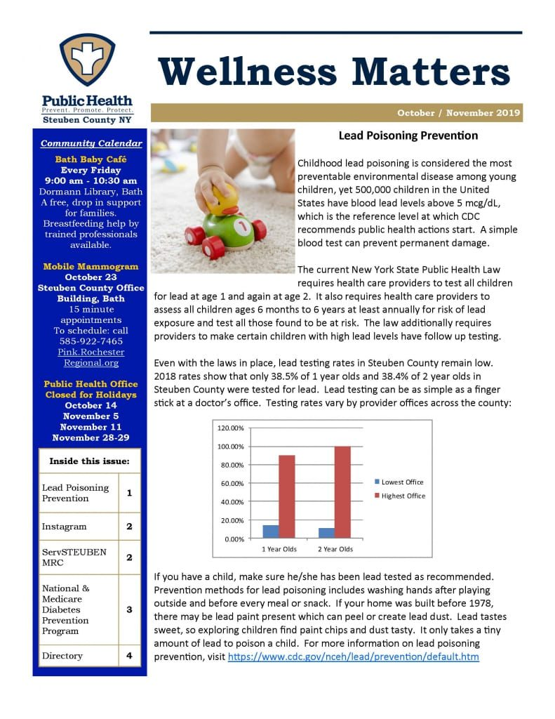 Oct   Nov 19 Wellness Matters Page 1 791x1024 - Steuben County Public Health - Wellness Matters