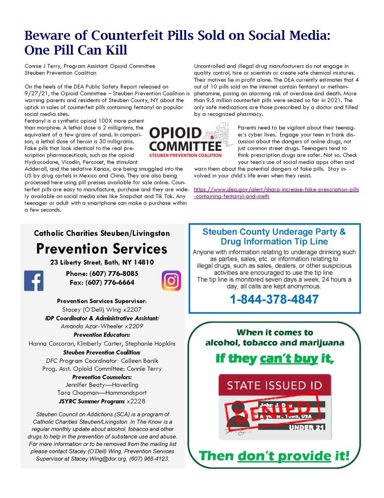 October Page 2 791x1024 - Catholic Charities Steuben/Livingston Prevention Services - In the Know (October)