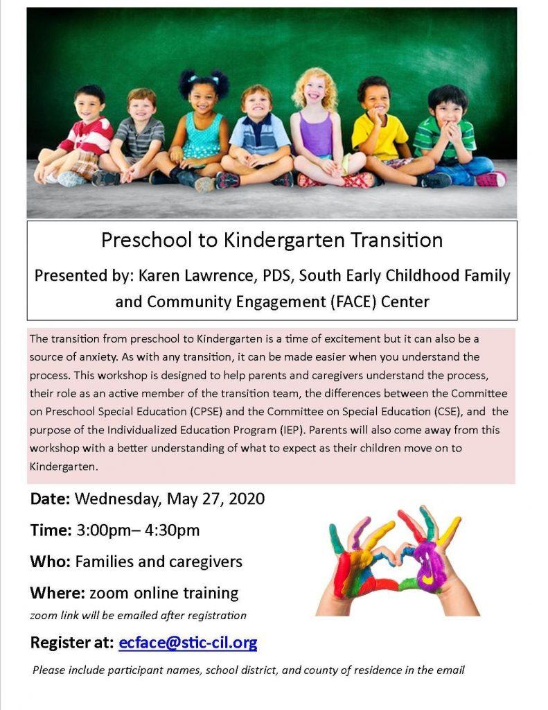 PRESCHOOL 791x1024 - ProAction Offers Free Preschool to Kindergarten Transition Training