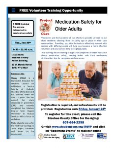 Project Care Training Medication Safety2 232x300 - Project Care Training - Medication Safety2