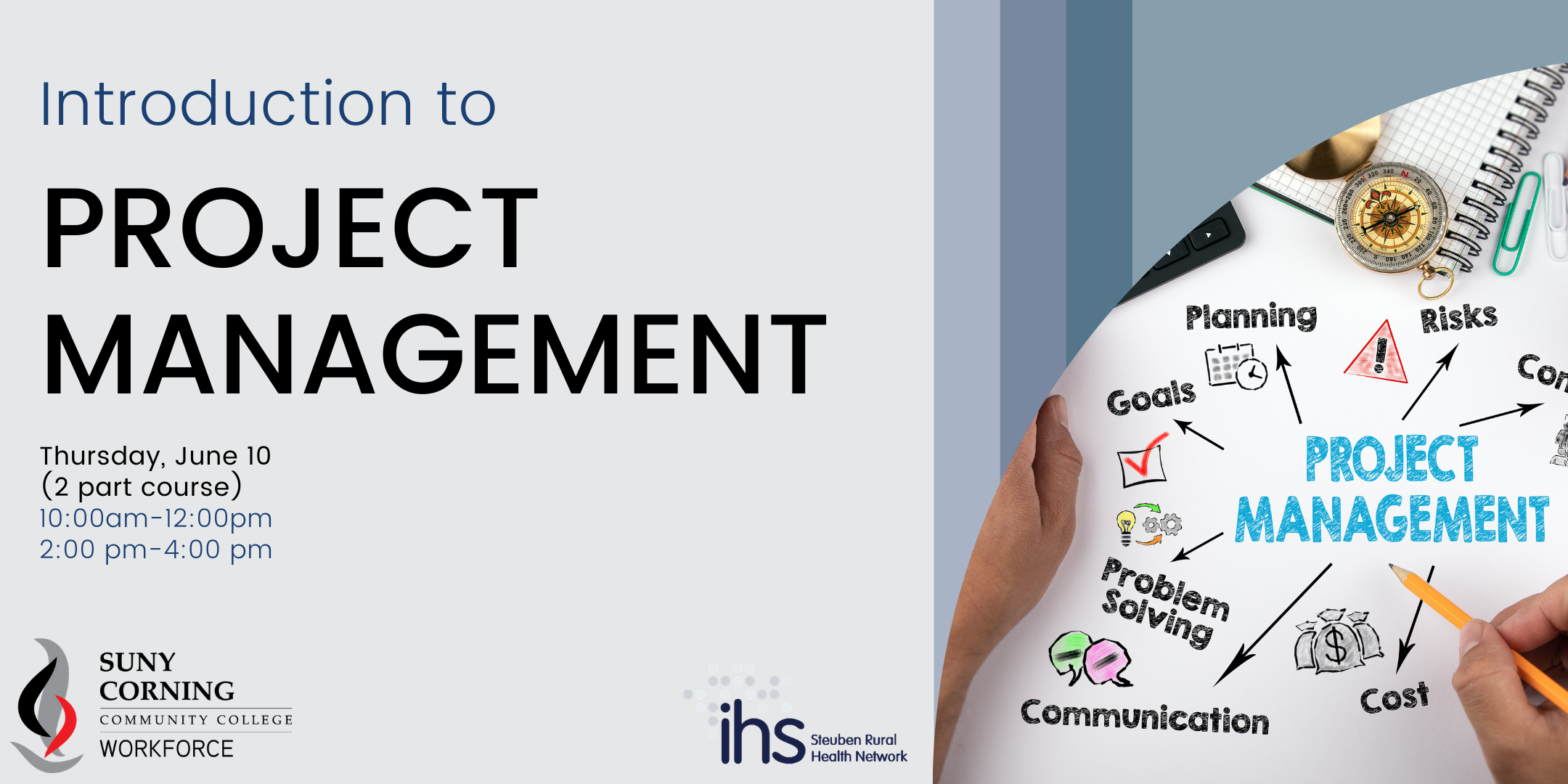 Project Management Eventbrite Cover 1 - IHS Events