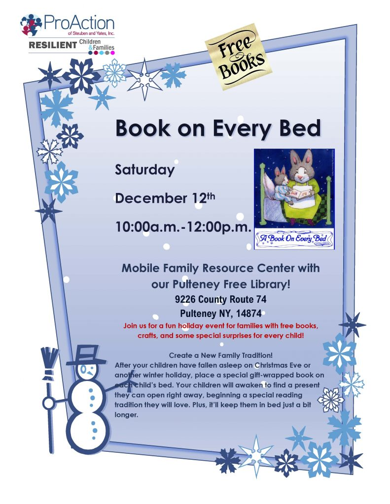 Pulteney Book on Every Bed Flyer 2020 791x1024 - A Book on Every Bed Events Happening This Weekend
