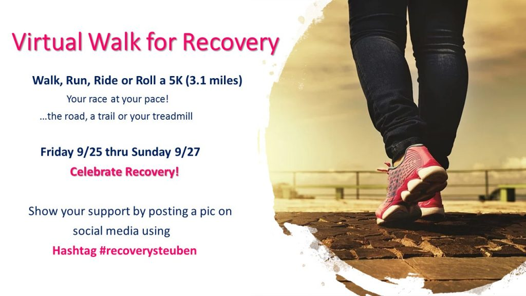 Recovery Walk Social Media Post 1 1 1024x576 - Walk for Recovery Goes Virtual 9/25 - 9/27