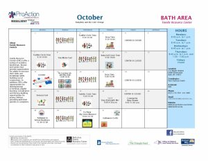 Revised BAFRC Calendar PopDates Oct2019l ML 2 300x232 - Bath Area Family Resource Calendar of Events