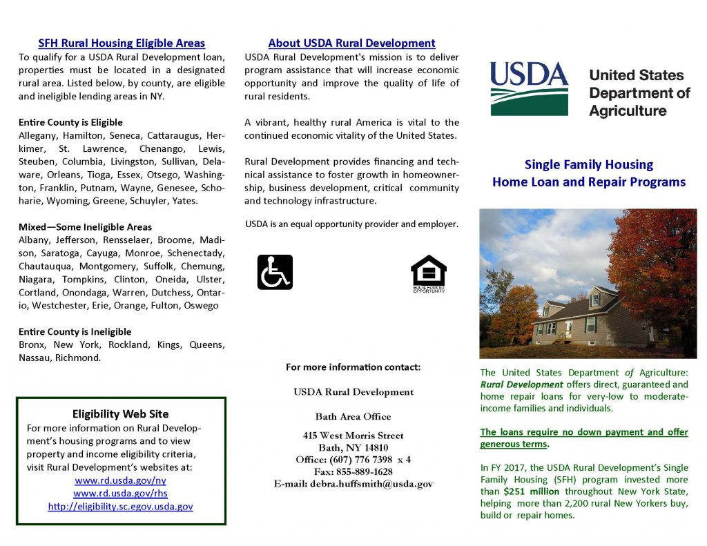 SFH Brochure 2019 Bath 1 Page 1 1024x791 - USDA Loan and Grant Programs Offer Homeowners Help