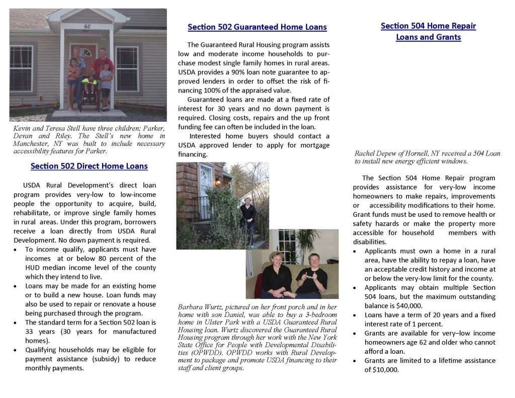 SFH Brochure 2019 Bath 1 Page 2 1024x791 - USDA Loan and Grant Programs Offer Homeowners Help