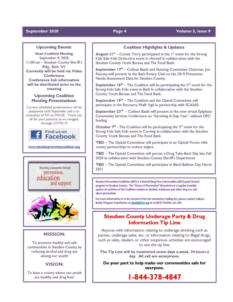September 2020 Newsletter 1 Page 4 791x1024 - Steuben Prevention Coalition - Ounce of Prevention (September)