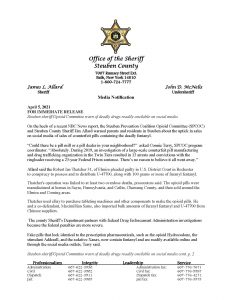 Steuben sheriff.Opioid Committee warn of deadly drugs readily available on social media Page 1 232x300 - Steuben sheriff.Opioid Committee warn of deadly drugs readily available on social media_Page_1