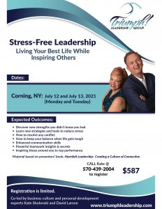 Stress Free Leadership flyer July 2021 232x300 - Stress-Free Leadership flyer July 2021