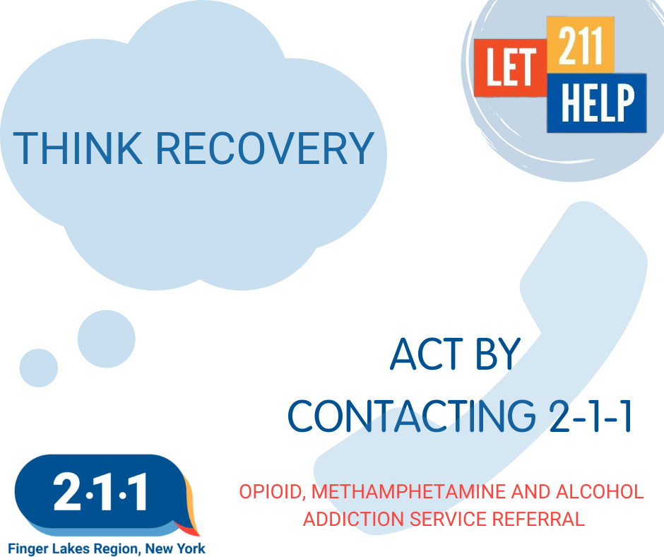 THINK RECOVERY - 2-1-1 HELPLINE