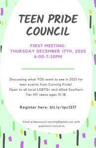 Teen Pride Council 194x300 - Teen Pride Council