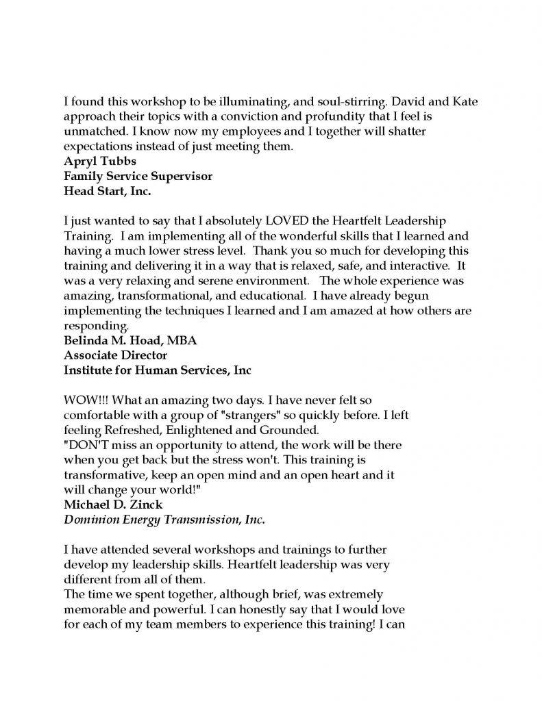 Testimonials 2021 Page 2 791x1024 - Stress-Free Leadership Sessions w/ Triumph Leadership Group