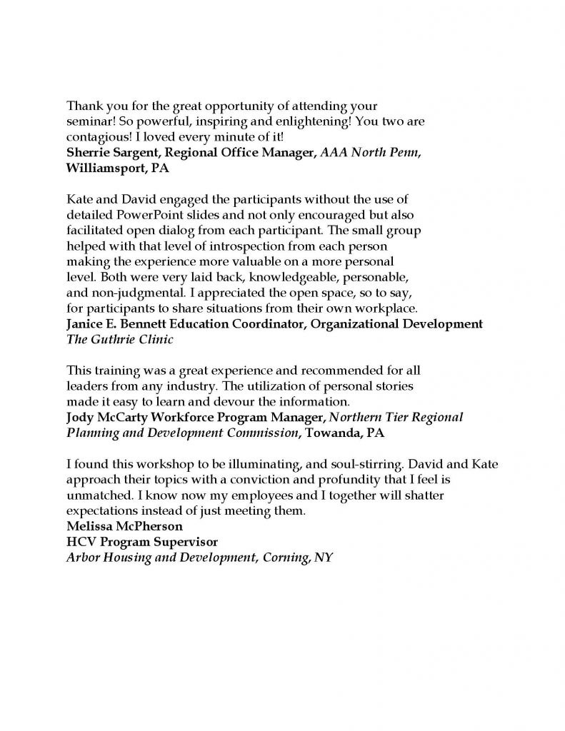 Testimonials 2021 Page 5 791x1024 - Stress-Free Leadership Sessions w/ Triumph Leadership Group