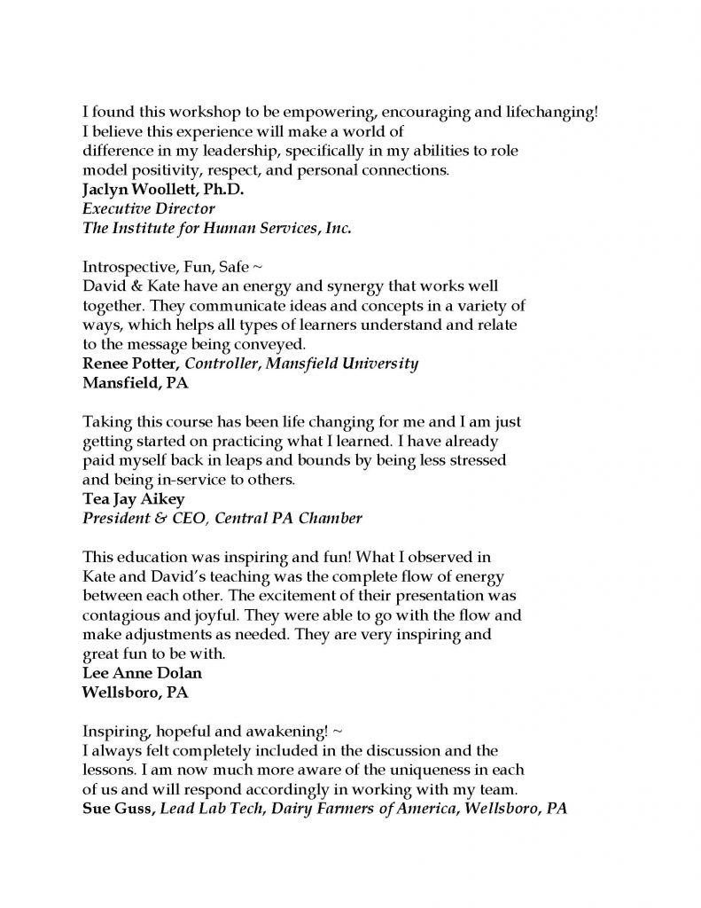 Testimonials 2021 Page 7 791x1024 - Stress-Free Leadership Sessions w/ Triumph Leadership Group