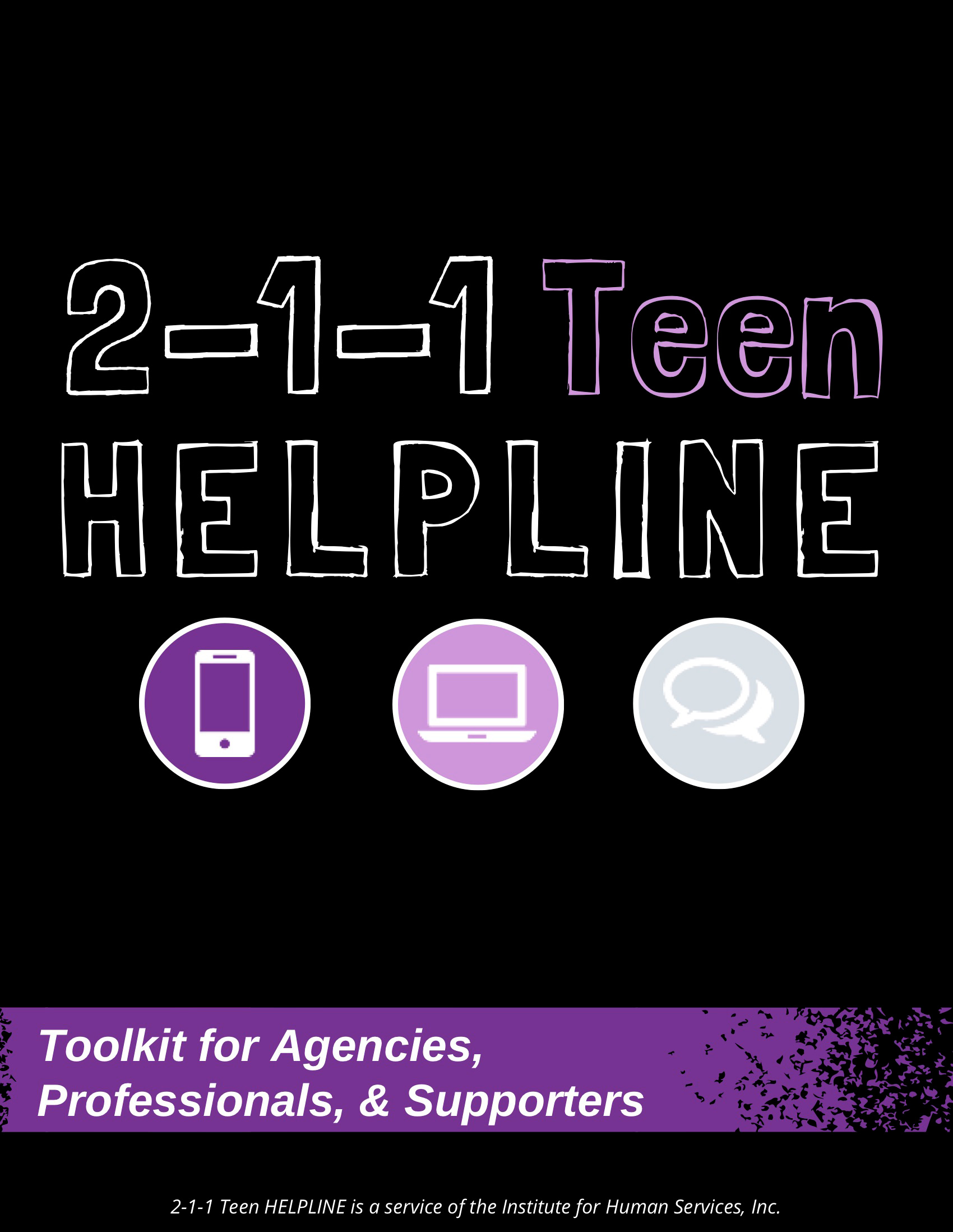 Toolkit   Teen HELPLINE - Tool Kit