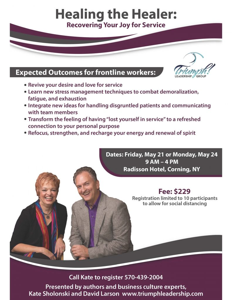 Triumph Healing the Healer Flyer 01 791x1024 - Professional Development: Heal the Healer - Triumph Leadership Group