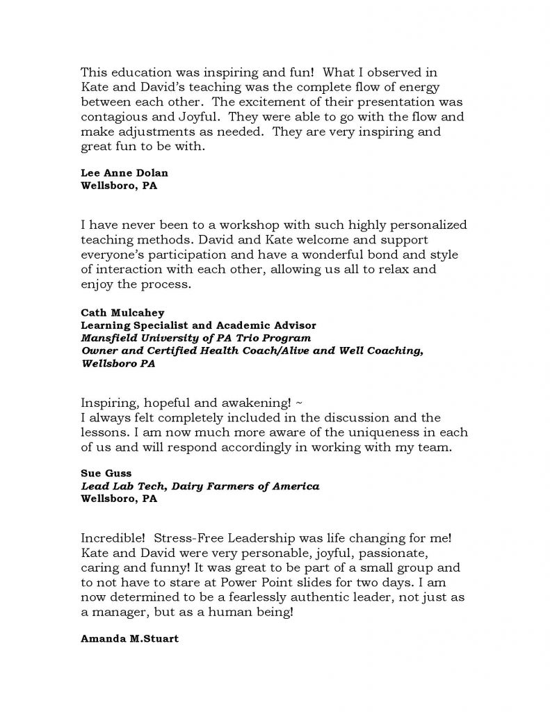 Triumph Testimonials 2020 2 Page 8 791x1024 - Triumph Leadership Offers Socially Distanced Presentations