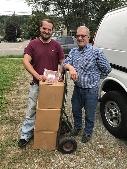 Turning Point Canisteo Food Pantry 1 - Turning Point Thanks Bath Simmons Rockwell for Food Pantry Donation