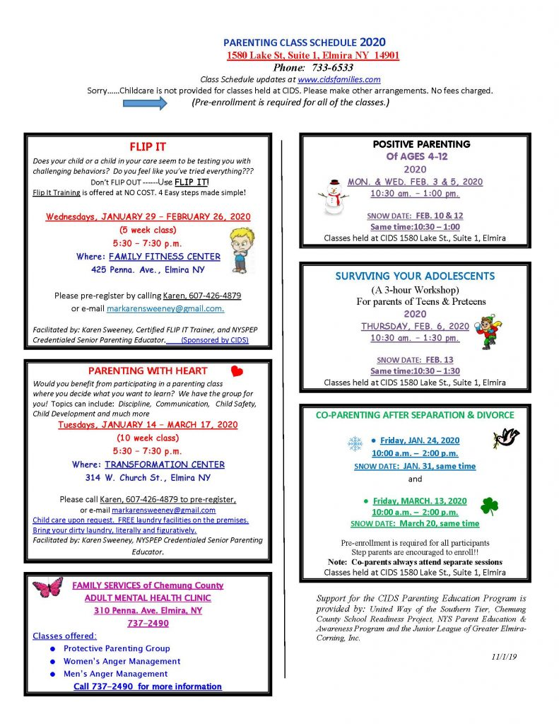 current JAN. 2020 Page 2 791x1024 - CIDS Parenting Newsletter (January)