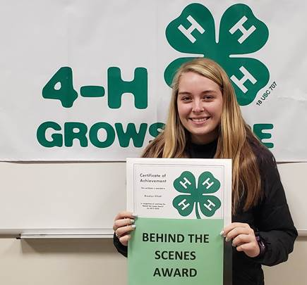 download 2 - Steuben County 4-H Members and Volunteers Receive Awards