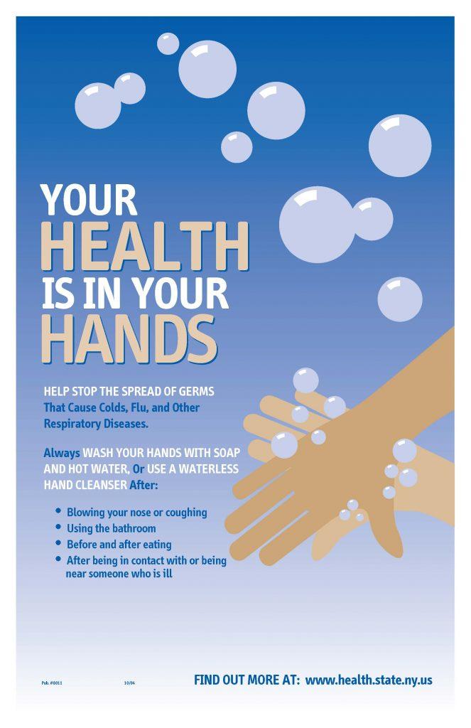 nysdoh handwashing sign 663x1024 - NYSDOH Reminds You to Wash Your Hands